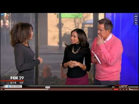 Alex Holly and Mike Jerrick and  Angela Meryl on Fox 29 Good Day  Fighting!