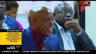 Outgoing Gauteng Human Settlements MEC testifies at the Alex inquiry