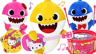 Pinkfong Shark Family Orchestra has been held! Let's dance to the rhythm with Pororo and Kitty