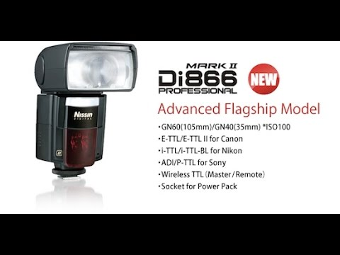 flash nissin di866 mark ii recensione youtube rh youtube com