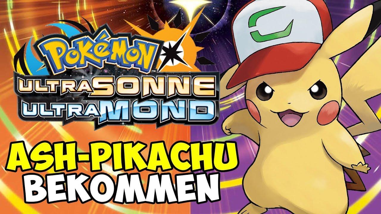 Ash Pikachu Bekommen Qr Code Pokemon Ultrasonne Ultramond