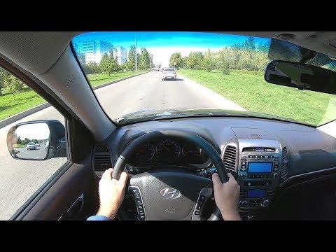 2011 Hyundai Santa Fe 2.4 (174) POV TEST DRIVE