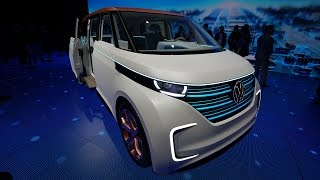 Volkswagen's Budd-e is the electric Microbus of the future — CES 2016