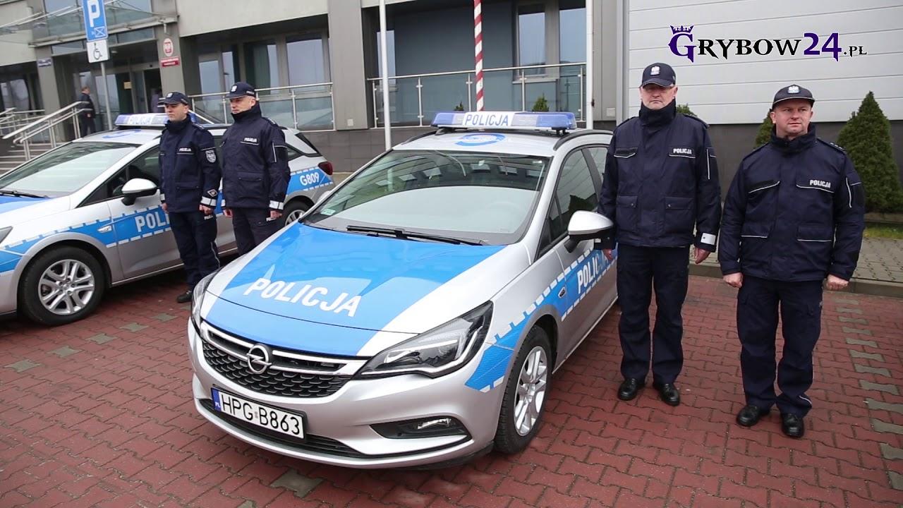 Grybów24.pl - Nowy radiowóz Opel Mokka trafił do Komisariatu w Grybowie