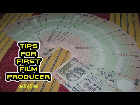 How to become a Film Producer - Tamil