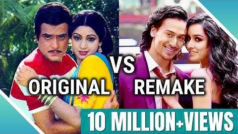 Original Vs. Remake #3   Bollywood Songs (The Best Songs)  (FULL HD)