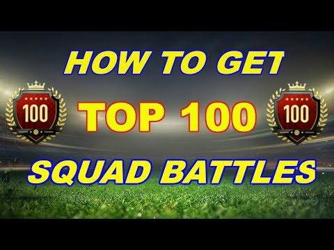 HOW TO GET TOP100 SQUAD BATTLES HOW I WIN 5-0 AGAINST LEGENDARY FIFA 19