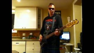 Pennywise - Bro Hymn Tribute bass cover