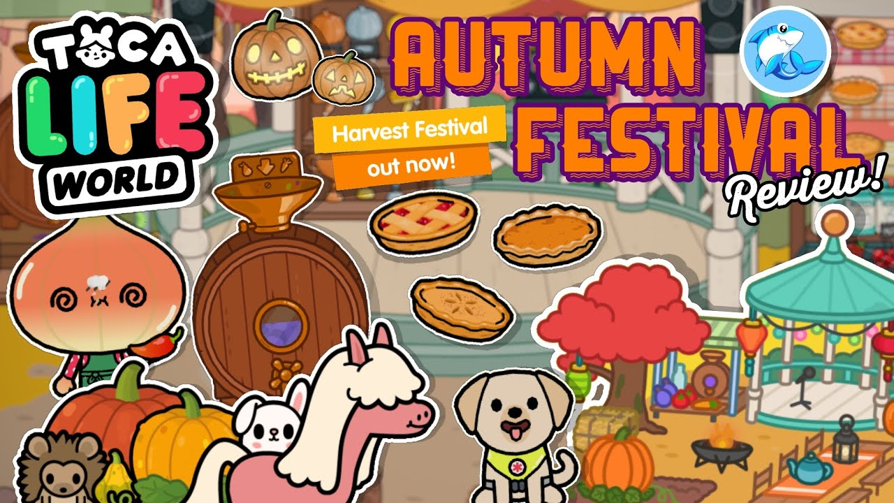 Toca Life World | Harvest Festival Location Review!! (WORTH IT?)