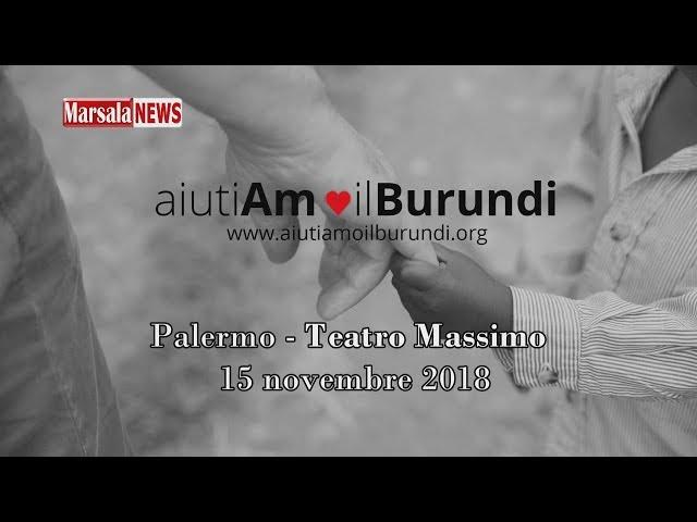 Galà di Beneficenza AiutiAmo il Burundi