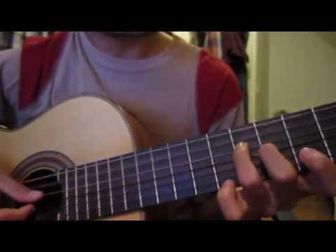 Indonesia Pusaka on Guitar
