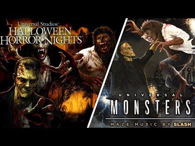 Universal Monsters Is Taking Over Halloween Horror Nights!