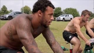 Entnamientos de Rugby en el gimnasio