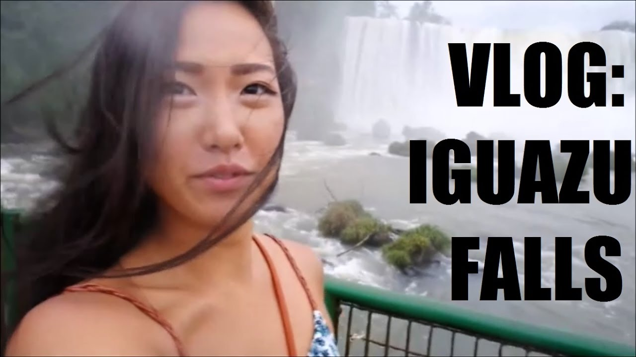 IGUAZU WATERFALLS! TRAVEL VLOG Brazil & Argentina (Iguaçu Falls)