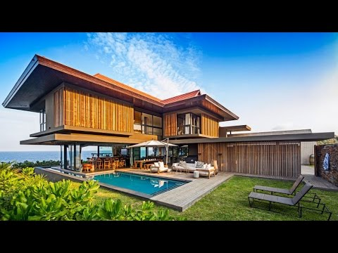 Contemporay House Ideas - Fushion of tropical Modern Architecture with Futuristic Elements