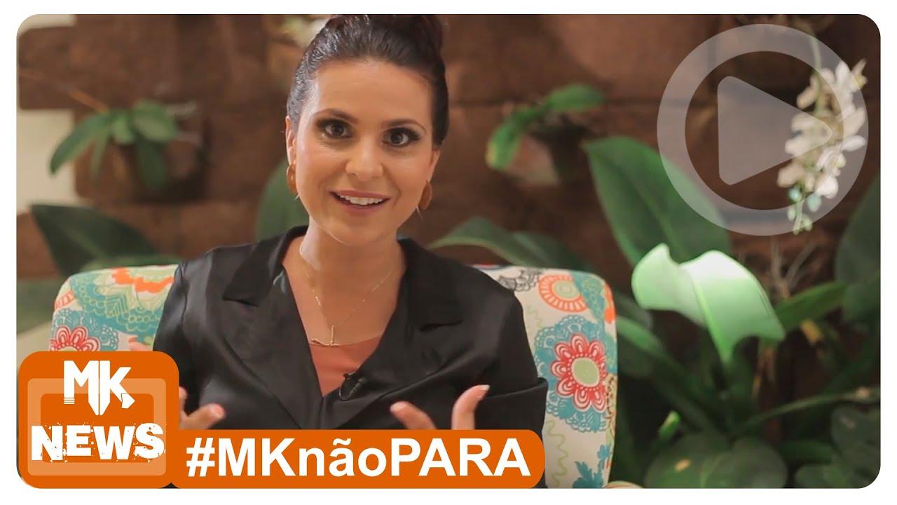 Aline Barros - Entrevista à RedeTV - (#MKnãoPARA)