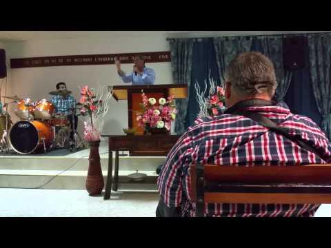 Evangelista Sánchez Predicando en Marchena