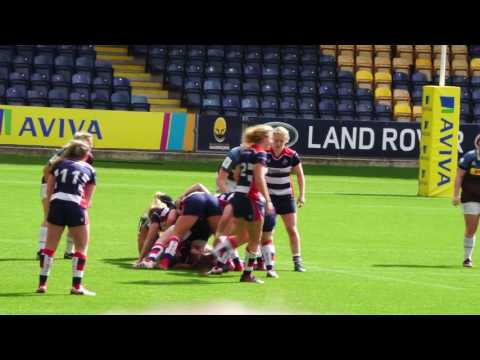Women's Finals Day at Worcester Sixways: Final Aylesbury vs Bristol
