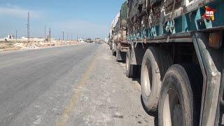 Конвой с гуманитарной помощью не может пробиться в Алеппо