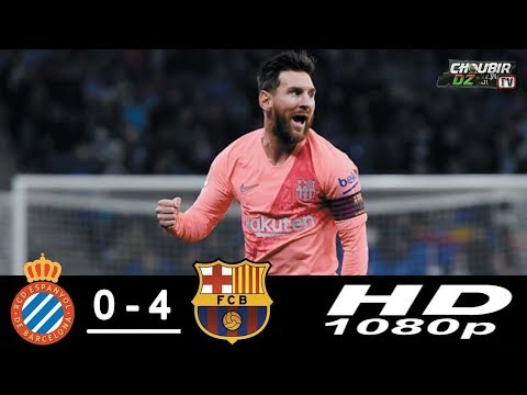 Espanyol Vs Barcelona 4-0 La Liga 08/12/2018