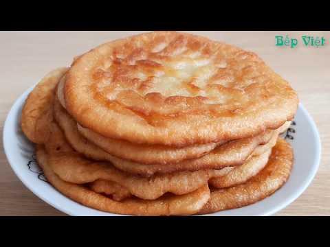 Cách làm bánh bột mì thơm ngon đơn giản nhất