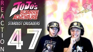 SOS Bros React - JoJo's Bizarre Adventure Part 3 Episode 47 - WRRYYYY!!