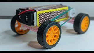 How to Make a Electric Toy Car at Home - Matchbox Car - Mini Car