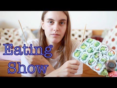 Eating Show: Sushi (MUKBANG)