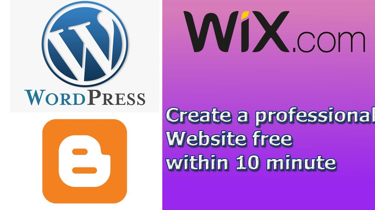 How to Make a Website? Create a website for free within 10 minute.
