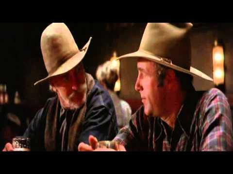 Comes a Horseman (1978) - Richard Farnsworth - James Caan - Bar Scene