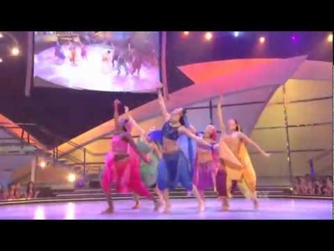 bollywood dance{jhoom barabar jhoom} performed by non indians..