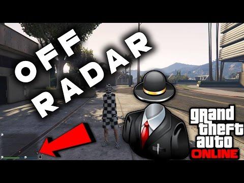 how to go off the radar gta 5