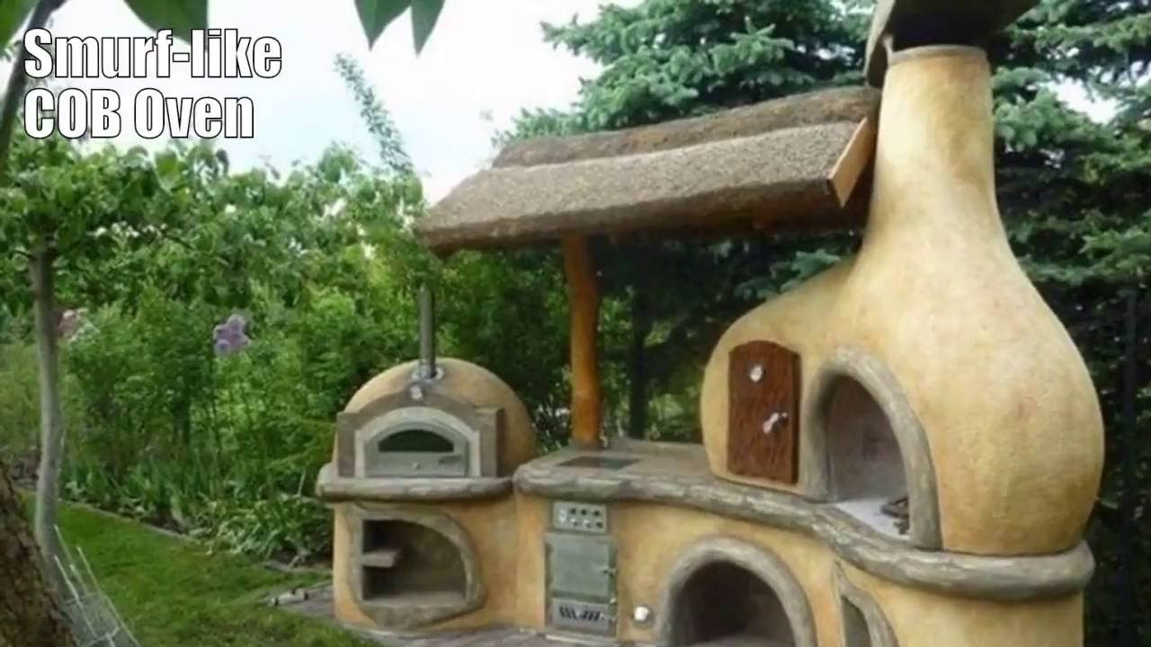 outdoor kitchen oven modern bar stools diy irresistible design ideas pictures cob pizza for survivalists youtube