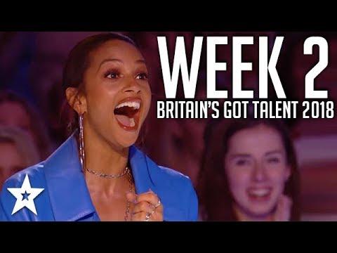 Britain's Got Talent 2018 | WEEK 2 | Auditions | Got Talent