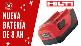 Nueva batería Hilti 8.0 Ah