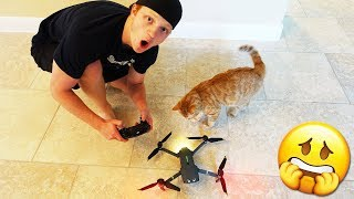 FIRST TIME FLYING A DRONE *BAD IDEA*