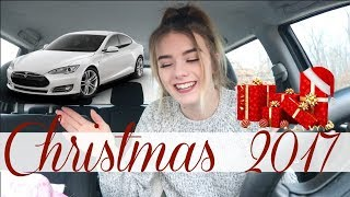WHAT I GOT FOR CHRISTMAS 2017 (NEW CAR!!!)