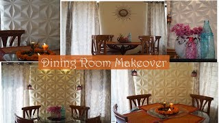 Dining Room Wall Makeover | Wall Art Wall Decor