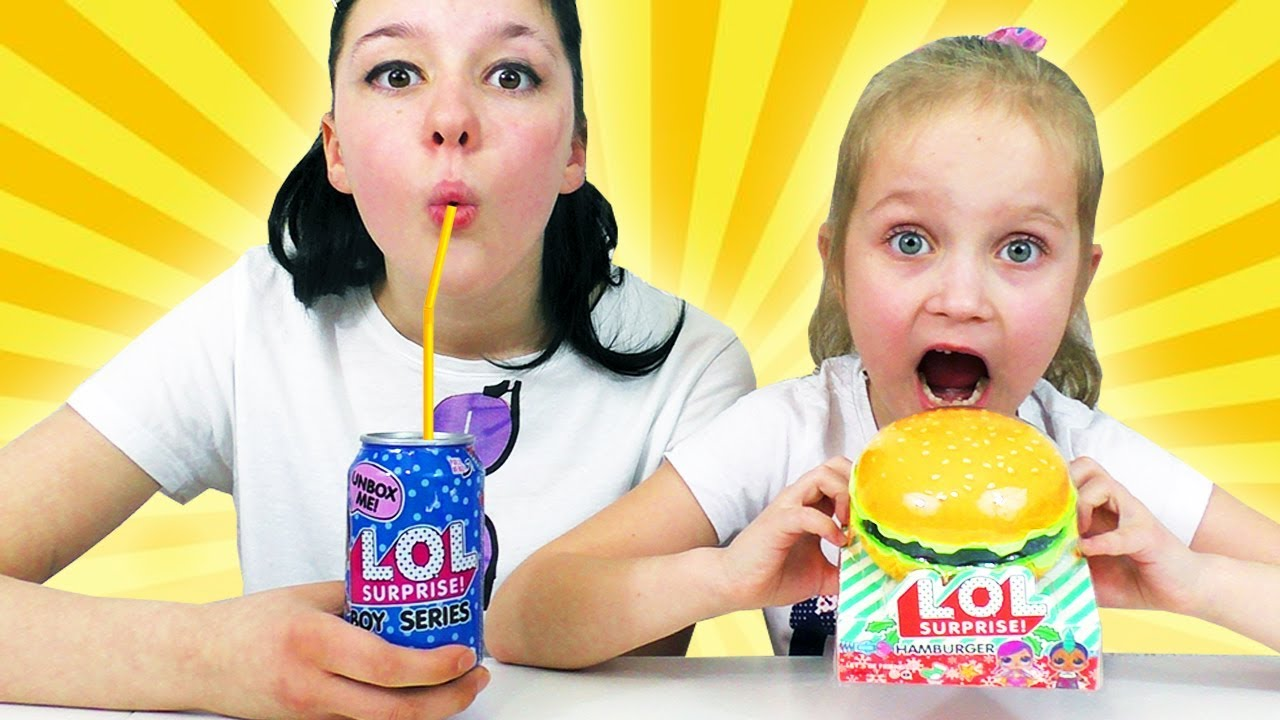 Съедобные Куклы Лол? Новинки LOL Surprise - YouTube
