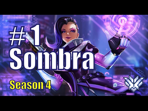Codeyniku BEST Sombra EASY Game | King's Row | Overwatch Pro Gameplay