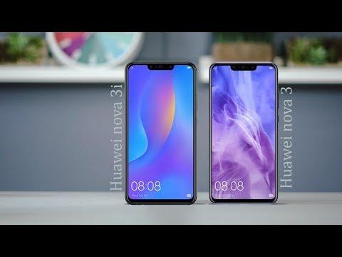 Huawei Nova 3i Vs Huawei Nova 3 Specs Comparison 2018 Youtube