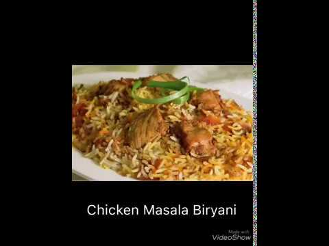 Chicken Masala Biryani