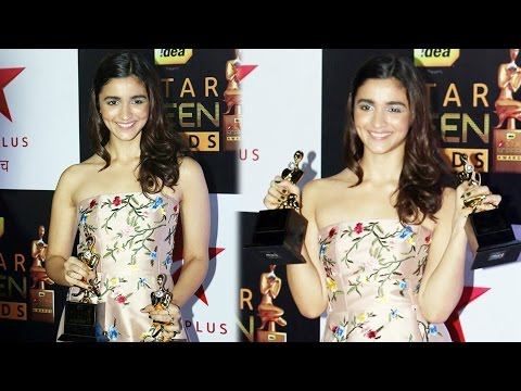 Alia Bhatt | Best Actress | Star Screen Awards 2016