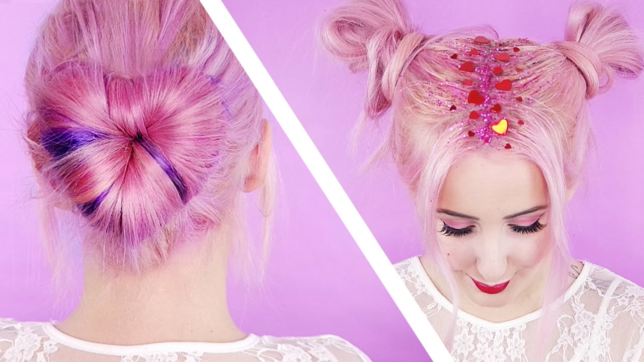 Valentineu0027s Day Inspired Hair! | By Tashaleelyn   YouTube