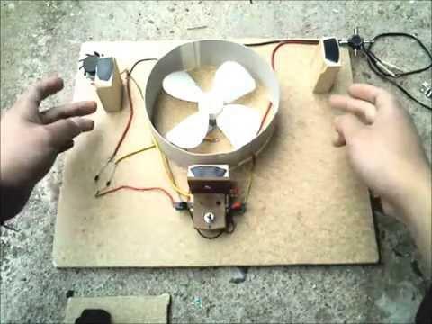 Tutorial como hacer un ventilador casero para notebook - Como hacer un abanico ...