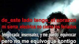 Andres Calamaro - 5 minutos mas (minibar) Karaoke