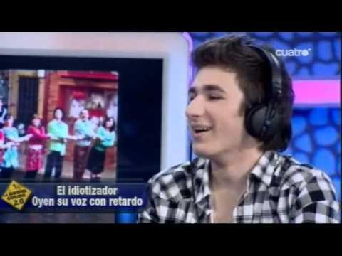 El Hormiguero - David Castillo con el Idiotizador
