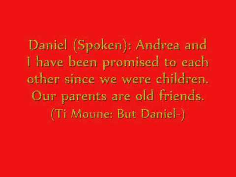 13 Andrea's Squence Lyrics (Once on this Island)