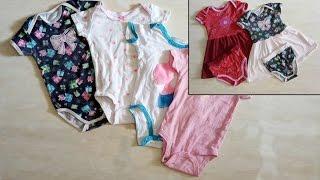 Mengubah Jumper Baby Menjadi Dress