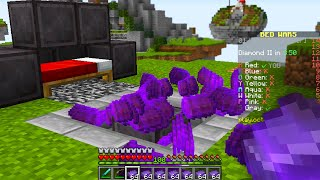 i secretly used a netherite generator in Minecraft Bedwars..